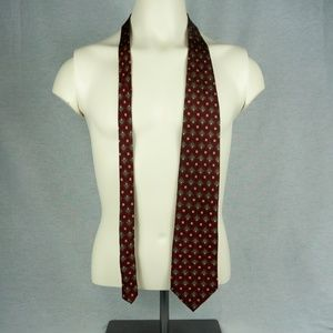 "Red and Green ""Graham & Lockwood"" Tie"